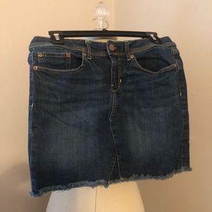 GAP Dark Denim Mini Skirt Size 4